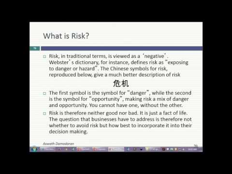 Session 5 (MBA): Risk and Return - First Steps