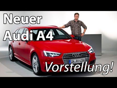 Vorstellung: Neuer Audi A4 (B9) Avant 2016 im Detail (Weltpremiere!)