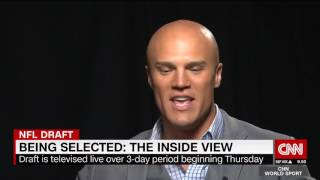 Hines Ward & Coy Wire Reflect on NFL Draft Day Experiences
