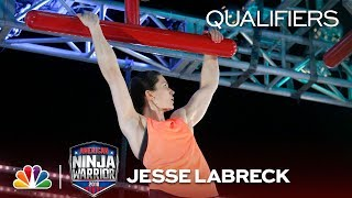 Jesse Labreck at the Indianapolis City Qualifiers - American Ninja Warrior 2018