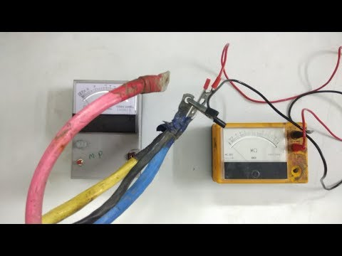 HOW TO CHECK CABLE INSULATION WITH MEGGER