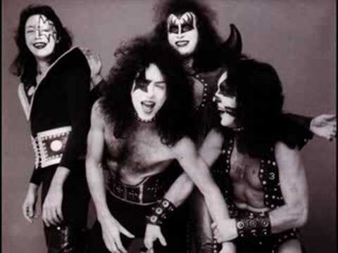 Gene Simmons in the 70's