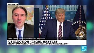 US elections: Trump campaign appeals loss in Pennsylvania election dispute