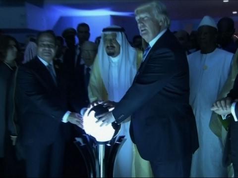 Trump, Saudi King Open Counter Terrorism Center