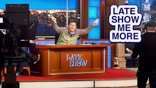 "LATE SHOW ME MORE: ""We Did It, Mom!"""