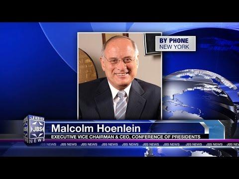 In The News: Malcolm Hoenlein