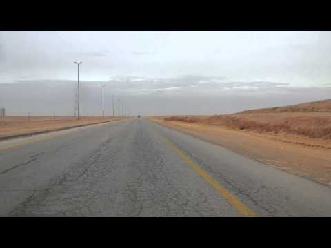 Long Journey From Aljouf Northern Region to Al Nariya Eastern Region