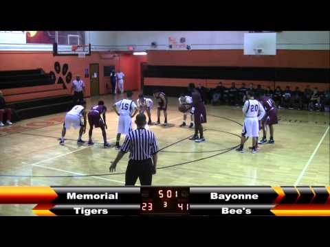 MHS Boys Basketball vs Bayonne 1-13-15