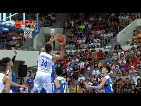 Christian Standhardinger's UNSTOPPABLE Move Against Taipei! (VIDEO) Jones Cup 2017
