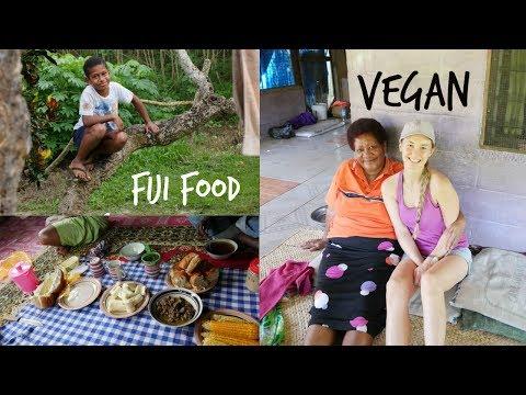 Eating VEGAN in a Fijian Village