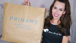 ♥ Primark haul ♥ (nákupy z Primarku, Rossmanna a DM drogerie)
