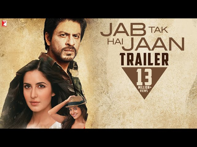 Jab Tak Hai Jaan - Trailer Travel Video