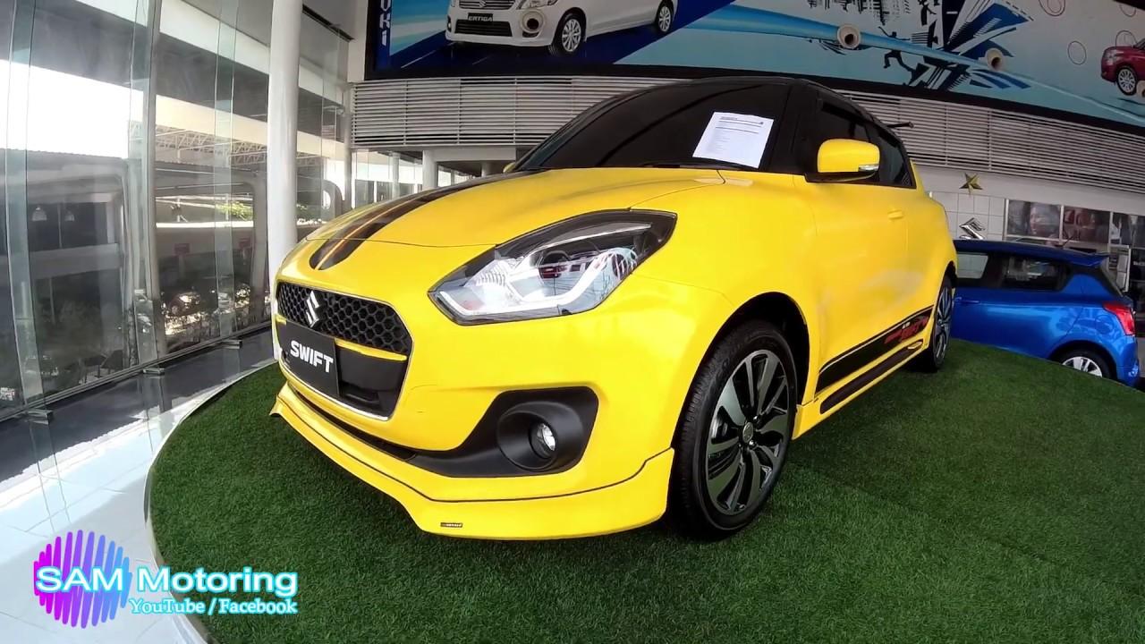 All New 2019 Suzuki Swift Thailand Domestic Market Yellow Sticker Body Wrap By The Dealer