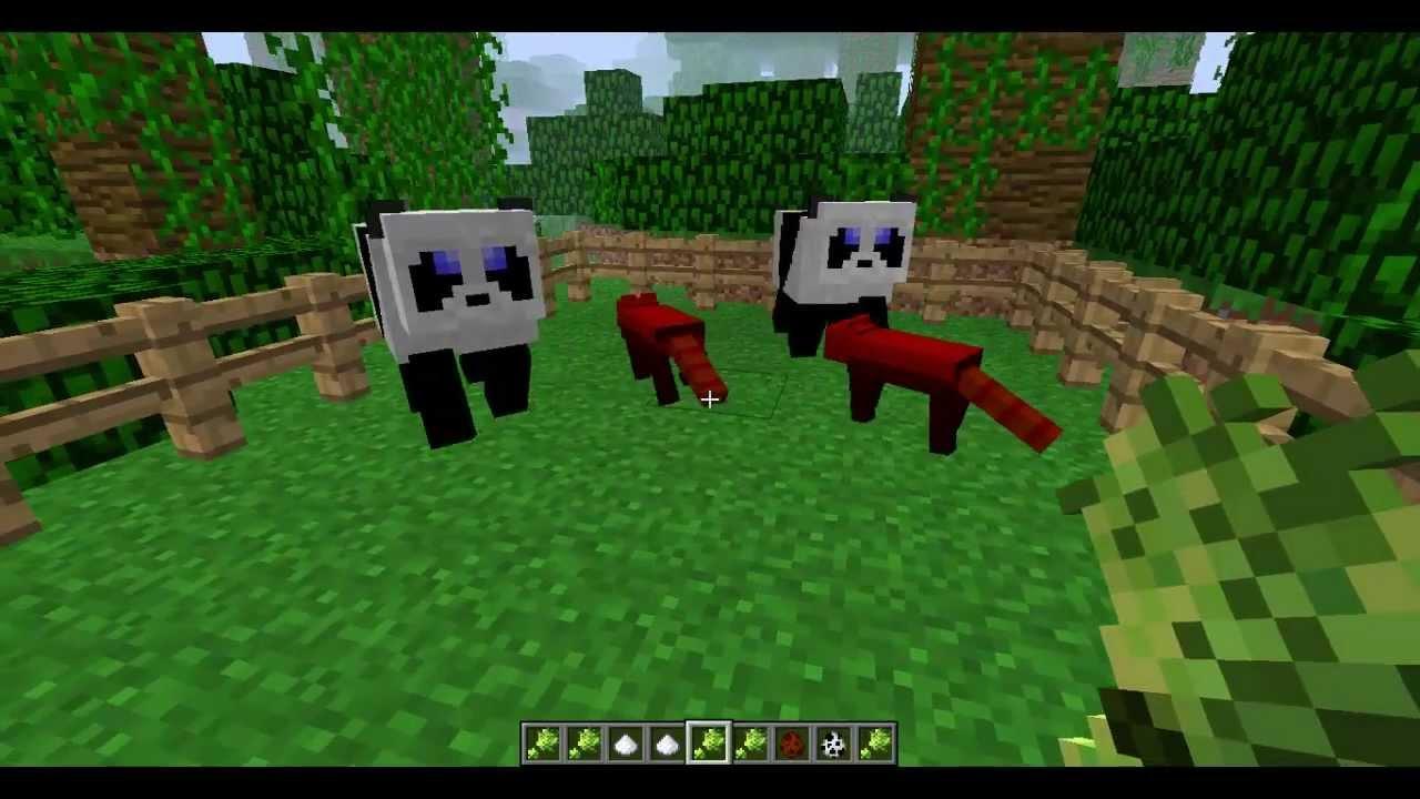 Minecraft Mod Testing Red Pandas 2 Youtube