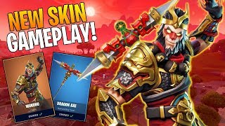 *BIRTHDAY STREAM* Fortnite Wu Kong Skin Gameplay! Solo And Squad Games With Subs!