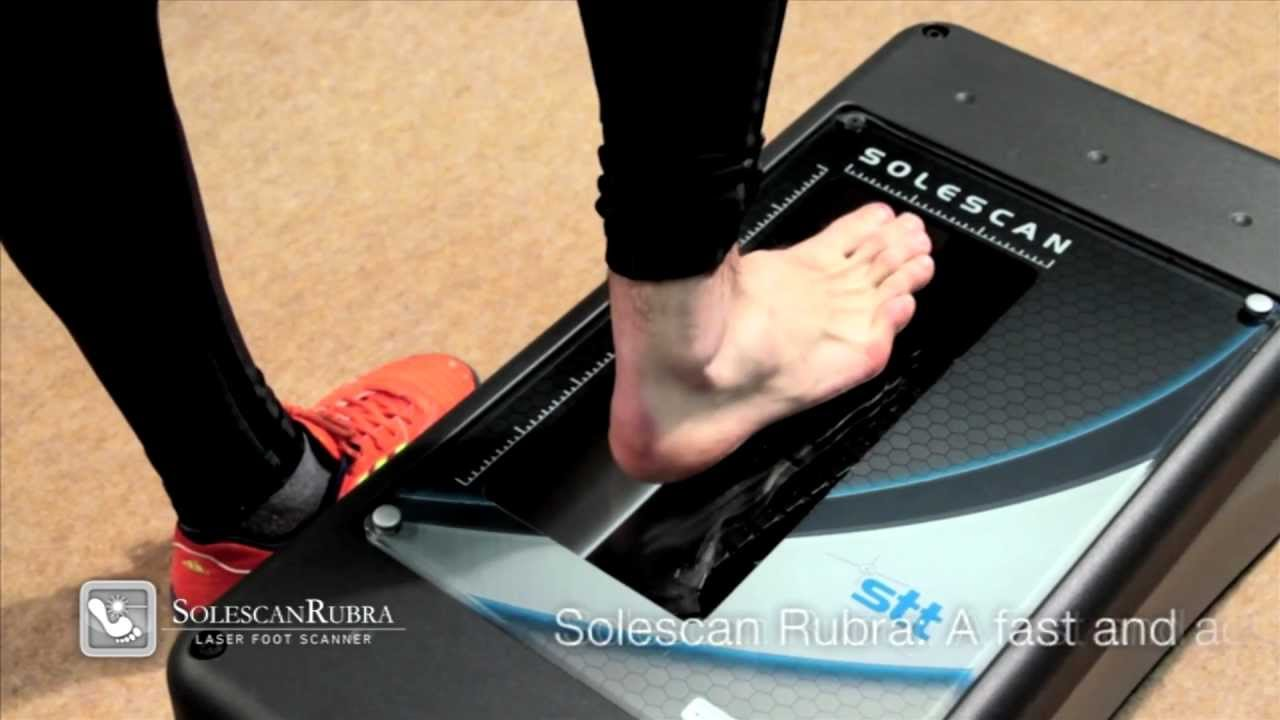 Rubra Solescan Stt Laser Foot Scanner Youtube