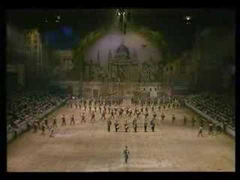 1983 Royal Tournament - Massed Bands of the RAF