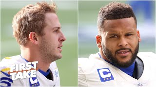 Is Jared Goff or Aaron Donald more crucial for the Rams' chances vs. the Packers? | First Take