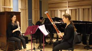 Previn Trio for Oboe, Bassoon, and Piano - I.