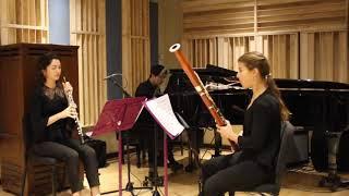 Previn Trio for Oboe, Bassoon, and Piano - I.