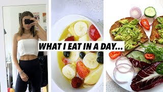 WHAT I EAT IN A DAY! HEALTHY, EASY, VEGETARIAN AND QUICK MEALS! Lovevie
