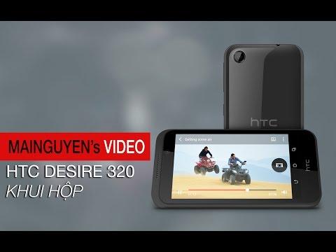 Khui hộp điện thoại HTC Desire 320 - www.mainguyen.vn