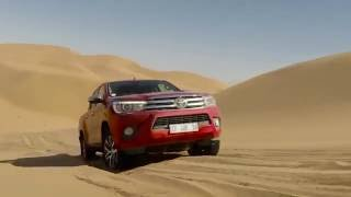 Toyota Hilux Namibia - Driving Video in the Desert | AutoMotoTV