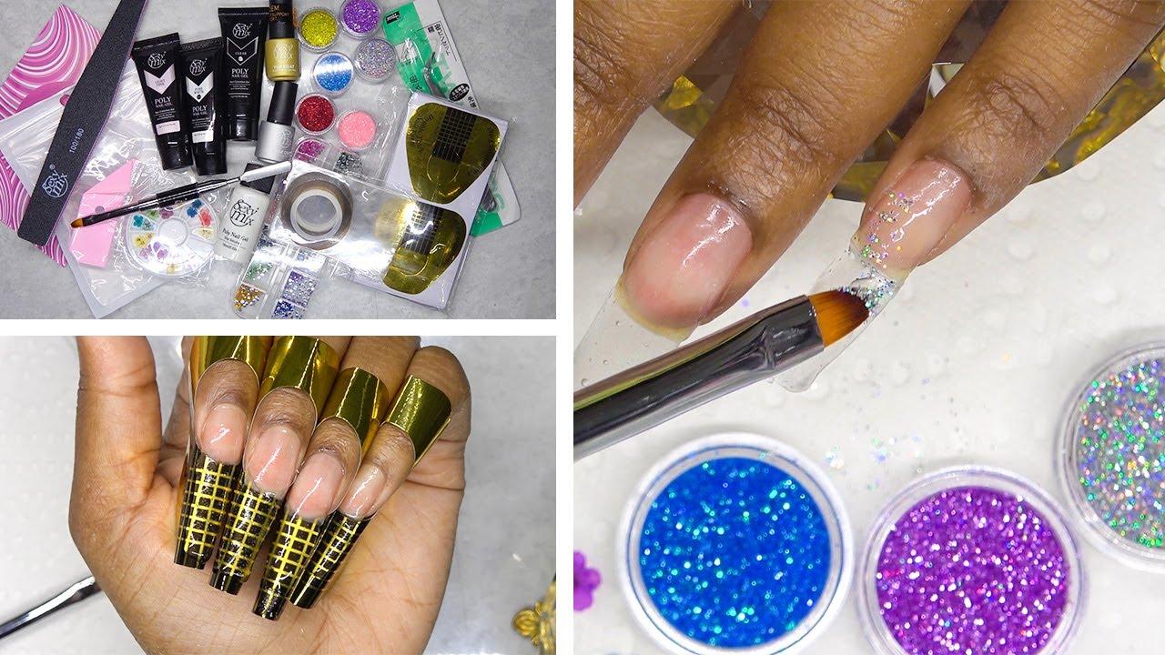 DIY Testing a Polygel Nail Kit from Amazon Prime - Sexy Mix