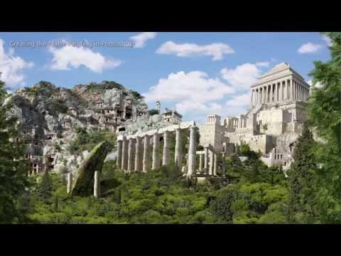 Mausoleum at Halicarnassus - with breakdown