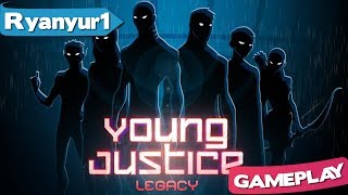 Young Justice Legacy Gameplay First Look - DC Comics TV Show Superhero Game