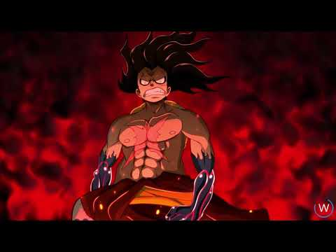 Luffy Gear 4th One Piece Live Animated Wallpaper