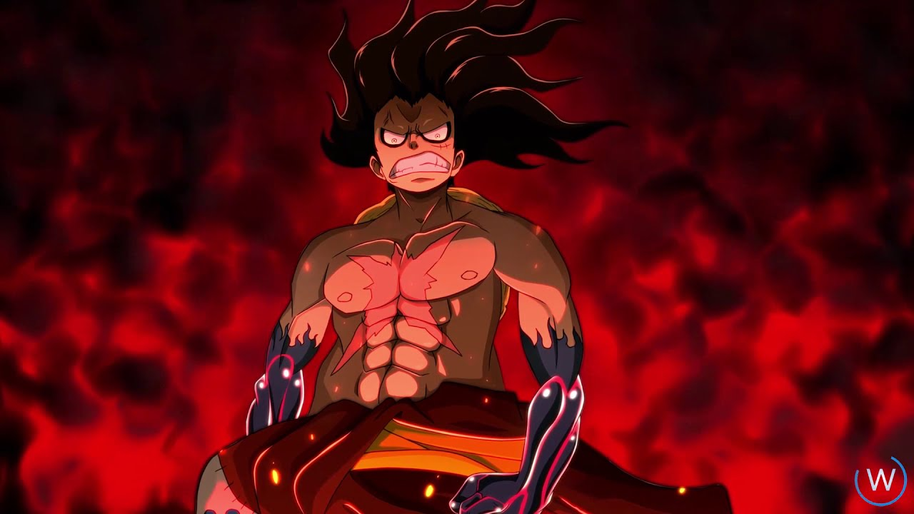 Making Animation Luffy Gear 4th One Piece Live Wallpaper Engine Pc Mobile Ver Youtube