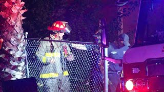 Firefighters put out shed fire at South Side home