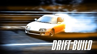Need For Speed SHIFT 2 UNLEASHED - TOYOTA SUPRA + Drift Build + Tuning + Gameplay