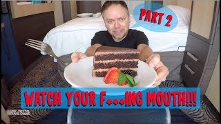 Cruise Ship Room Service Mukbang - Royal Caribbean Anthem of the Seas pt. 2