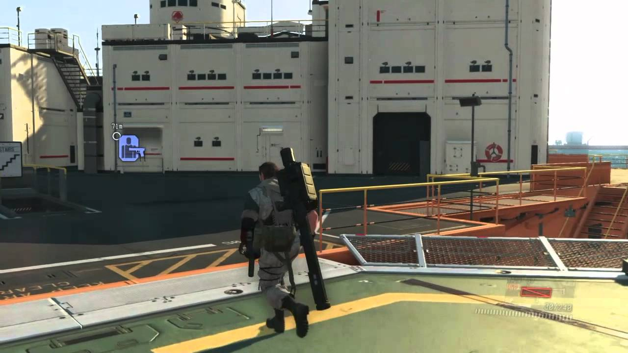 mgs v how to get quiet