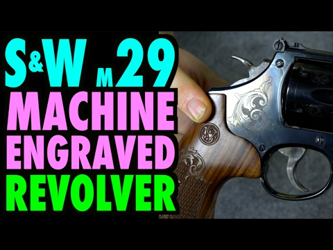 Factory Engraved S&W Model 29 Revolver
