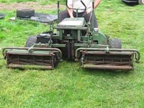 ransomes 180 diesel ride on mower youtube rh youtube com