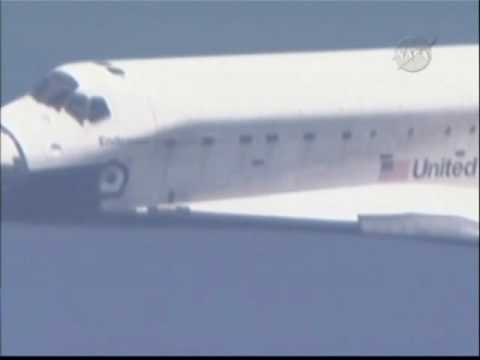 STS - 127: Shuttle Endeavour Landing Replays - Part 1
