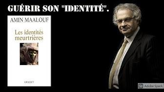 "#1. livre : ""Les identités meurtrières"" d'Amin Maalouf."