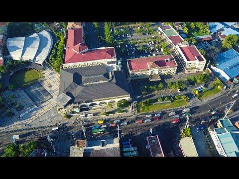 Valenzuela City Town Center Aerial Shot 4k 03 24 17