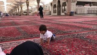 Omar inside the Haram Sharif