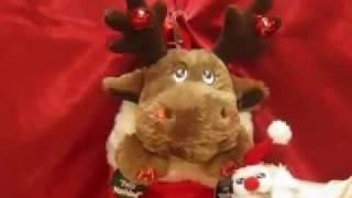 Dandee Christmas Animated Reindeer Stocking