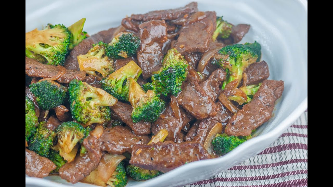 Beef and broccoli stir fry youtube beef and broccoli stir fry panlasang pinoy forumfinder Images