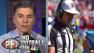 PFT Overtime: Florio: Replay review of Pass Interference is dead | Pro Football Talk | NBC Sports