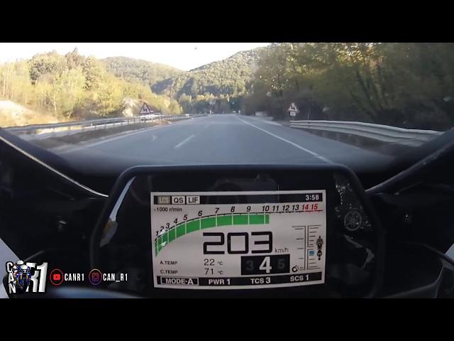 Yamaha R1 Onboard Action...