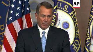 US House Speaker Boehner cautions Obama not to act unilaterally to change immigration system