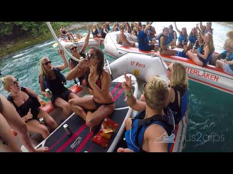 Aare River Float With Outdoor Interlaken And Bus2alps