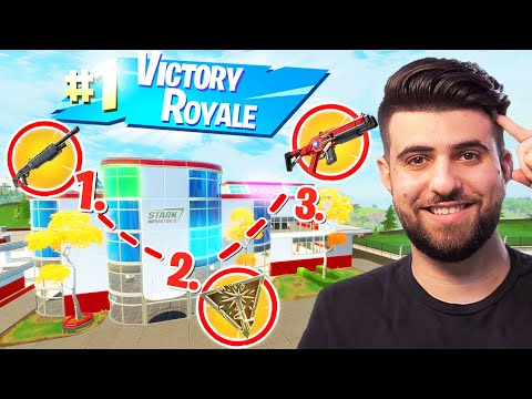 How To Get EASY High Elim WINS At Stark Industries! (Fortnite Educational Commentary)
