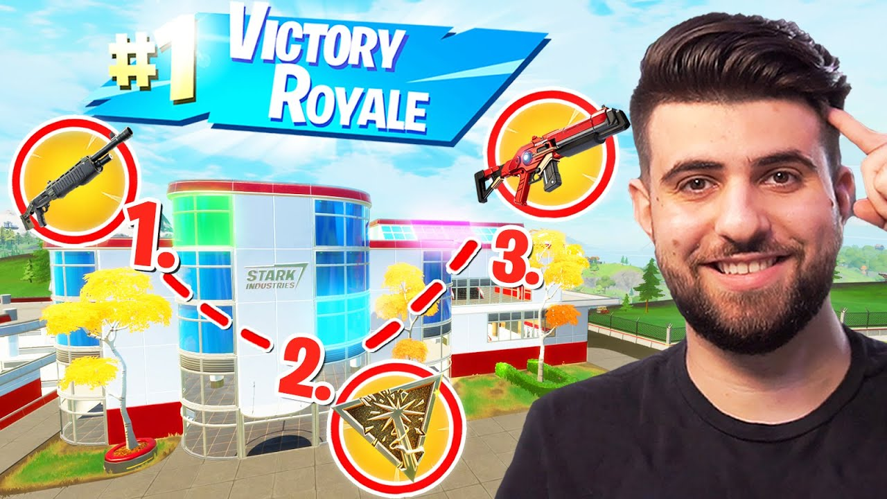 How To Get EASY High Elim WINS At Stark Industries! (Fortnite Educational Commentary) thumbnail